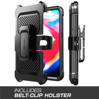 For One Plus 7 Case SUPCASE UB Pro Full-Body Rugged Holster Cover with Built-in Screen Protector & Kickstand For OnePlus 7 Case