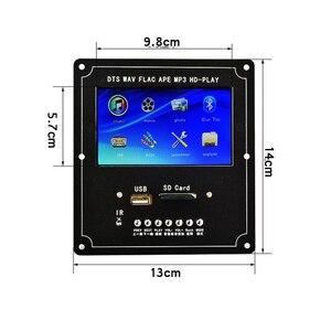 Image 4 - Claite 4.3 lcd dts placa de decodificador de vídeo de áudio sem perdas bluetooth receptor mp4/mp5 vídeo ape/wma/mp3 decodificação suporte fm