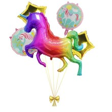 5pcs Large Unicorn Balloons Party Decoration Ballon Birthday Kids And Adult Babyshower Childrens Toy
