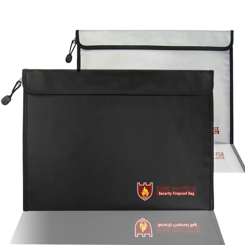 Envelope-Pouch Document-Bag Fireproof For Passport-Money Files Office/study-Supplies