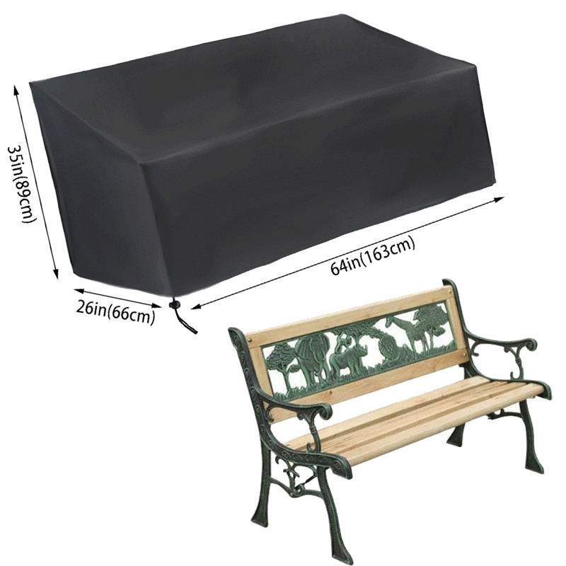 Fabulous Us 11 25 15 Off Brand New 210D 420D Oxford Waterproof Seat Seater Outdoor Garden Park Bench Covers 2 3 4 Seat Covers Protector In All Purpose Covers Dailytribune Chair Design For Home Dailytribuneorg