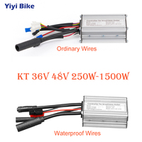 KT 36V 72V 250W 3000W Electric Bicycle Brushless Motor Controller DC Controller Electric Scooter e bike Motorcycle Accessories