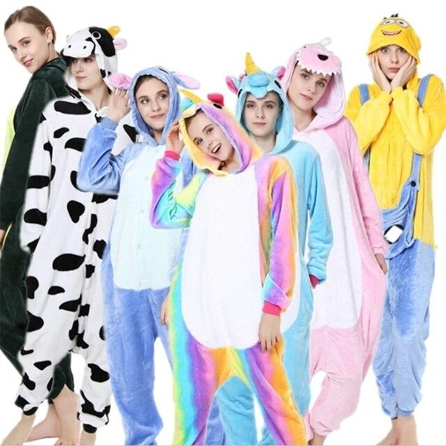 ad3ee7b1ffb1020 Пикачу зимняя Пижама животного kegurumi женские пижамы теплые пижамы  женские халат женский теплый