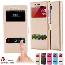 KISSCASE Fashion Magnetic Flip Phone Case For Xiaomi mi 4 Cases Button Silk Pattern Cover Redmi Note Coque Capa