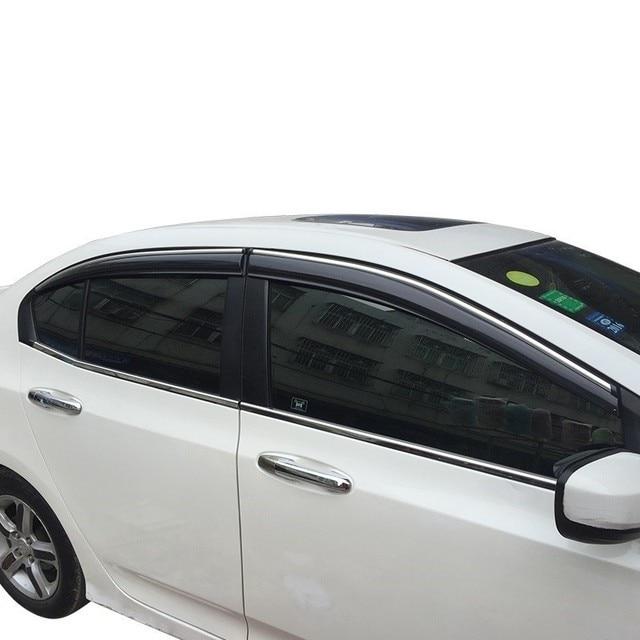Decoration Window Visor Anti Car Rain Awnings Shelters FOR Honda Accord URV  Vezel XR V CRV Avancier City Civic Fit Greiz Odyssey