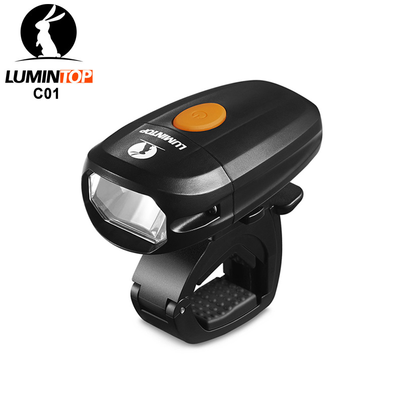 Lumintop C01 Bicycle Light Design For Urban Cycling Rechargeable USB Bike Headlight Anti-glare And Waterproof IPX8 Bike Torch