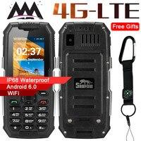 Snopow M2 Plus 4G WIFI GPS Russian keyboard IP68 Waterproof Shockproof mobile Phone 1GB+8GB MTK6737 2500mAh Unlocked cell Phones