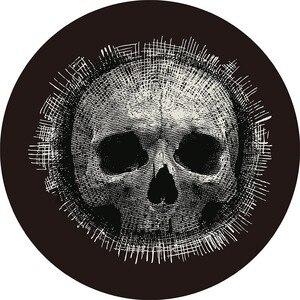 23 вида DeMissir Europ круглые ковры с принтом черепа Нескользящие Коврики для дома гостиной коврик для стула диаметр 60 см до 200 см Прямая поставка
