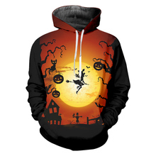 Halloween 3D Print Pumpkin Jackets Men/women Cool Hoodies Hiphop Pullover Hood Sweatshirts Boys Fashion Tracksuirt 5XL Drop ship