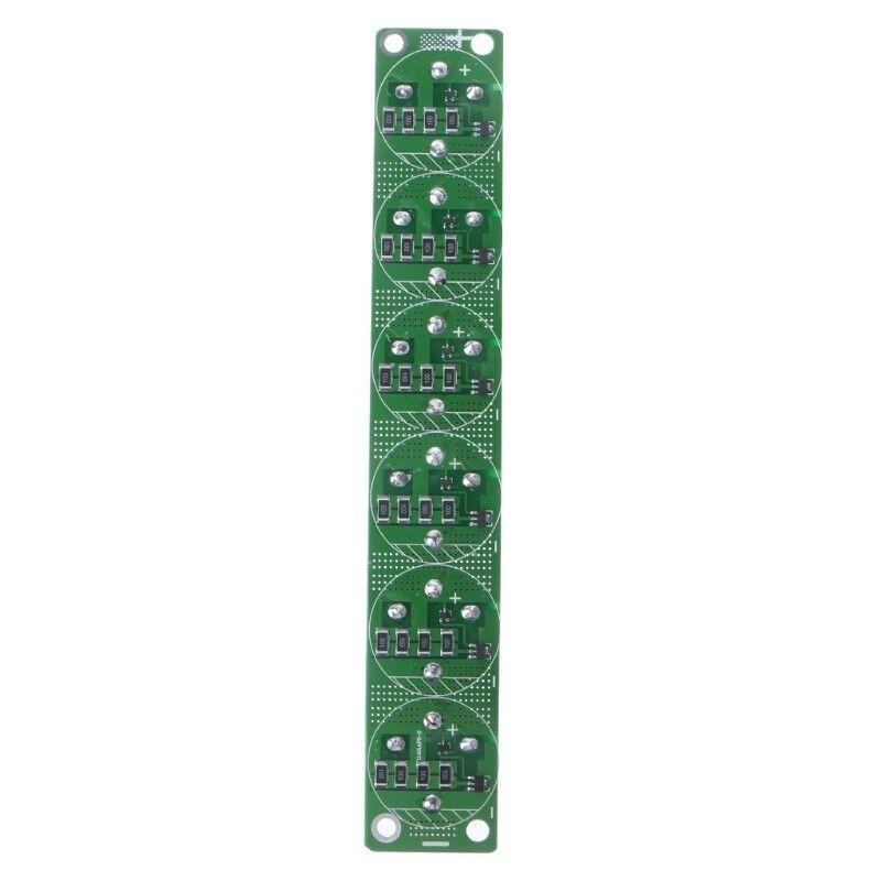 6 Pcs 1 Set Farad Capacitor 2 7V 500F Super Farad Capacitance With Protection Board in Tool Parts from Tools