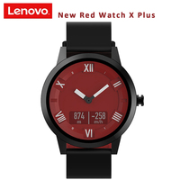 New Red Lenovo Watch X Plus Sports Wristband 8ATM Waterproof 45 Days Long Standby Real time Heart Rate Monitor SmartWatch