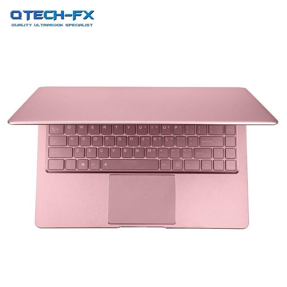 Métal Ultrabook SSD 256 GB 128G 64G RAM 6 GB 13.3 FHD CPU Intel 4 Noyaux Windows 10 arabe Français Espagnol Russe Clavier Rétro-Éclairé