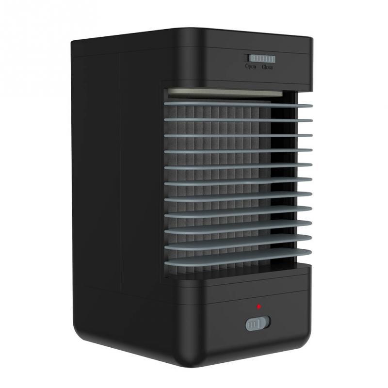 220v Portable Air Conditioner Mini Fan Humidifier System Wireless Cooler Eu Plug Plastic