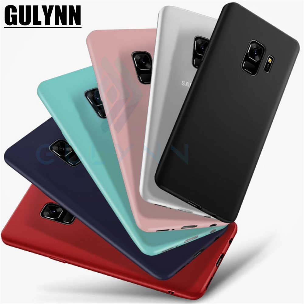 Ultra-thin Candy Color Cover Soft TPU Silicone Case For Samsung A3 A5 A7 A6 A8 J3 J5 J7 J6 J4 J8 2018 2017 S9 Plus Capa Fundas