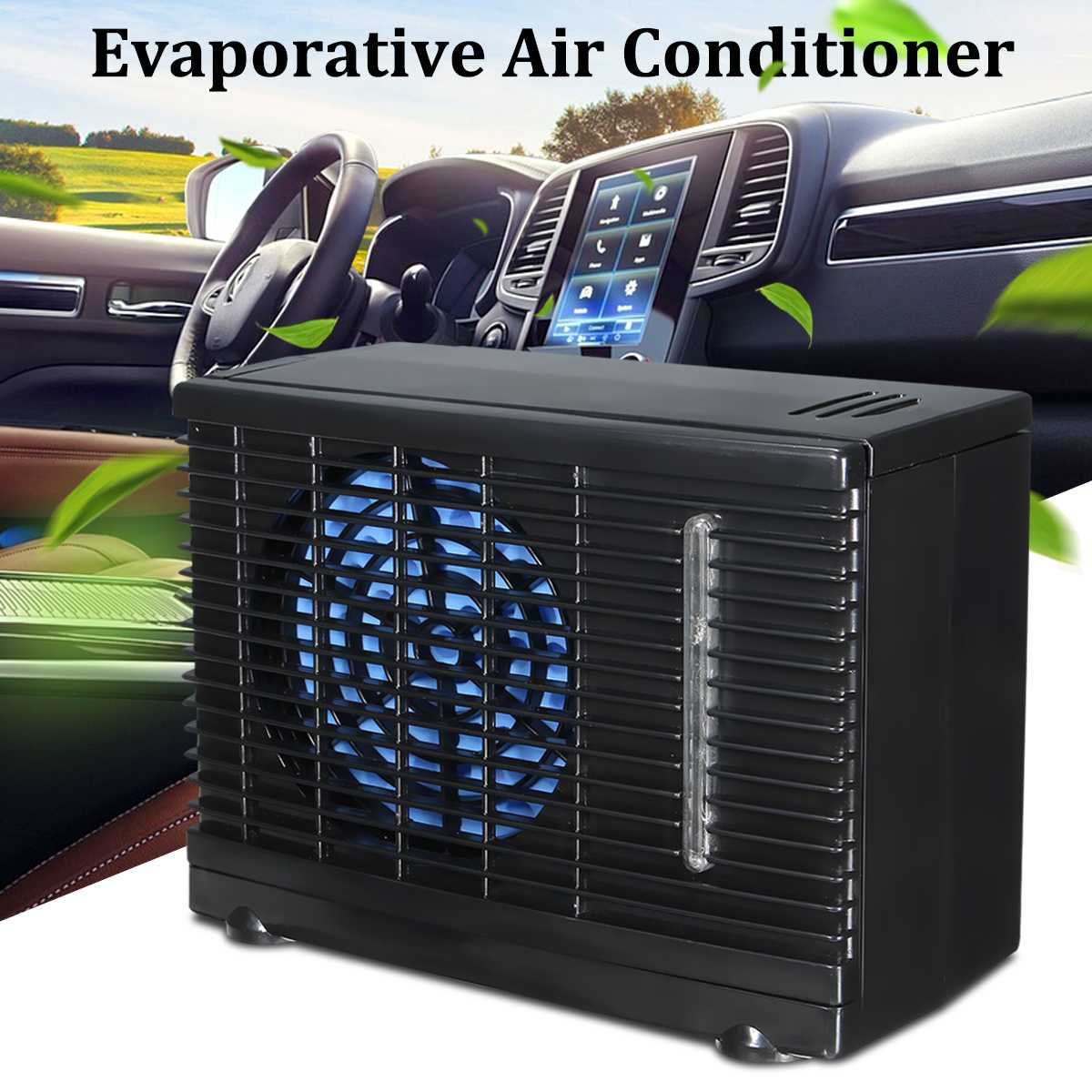 12v 35w 2 Speed Portable Mini Home Car Cooling Fan Cooler
