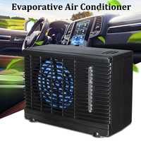 12V 35W 2 Speed Portable Mini Home Car Cooling Fan Cooler Water Ice Evaporative Car Air Conditioner for Car Truck Auto Cool Fan