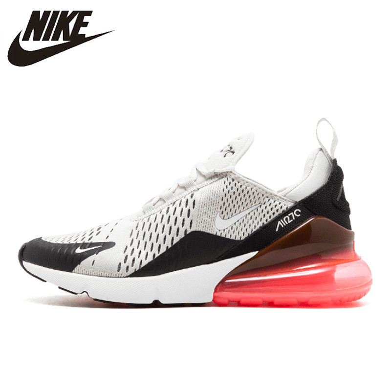 Nike Air Max 270 hommes chaussures de course Original nouveau coussin d'air confortable respirant Sports de plein Air baskets # AH8050