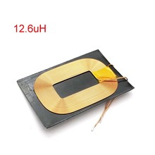 47*32mm12.6uH Antimagnetic Wireless Charging Receiver Coil