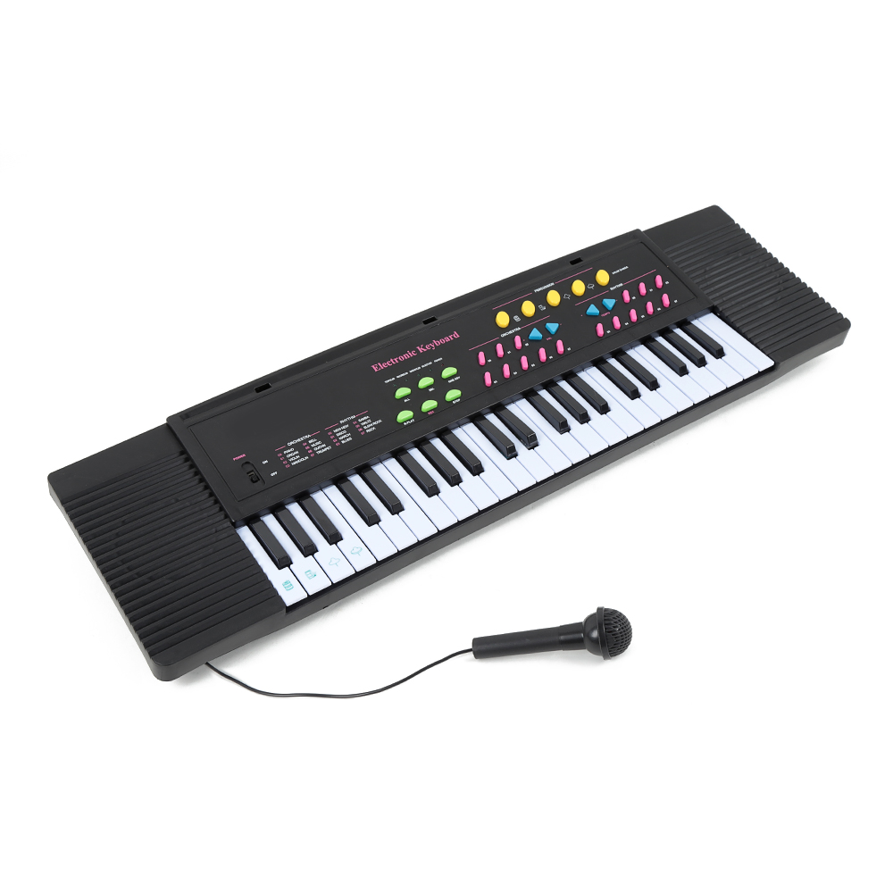 Professional Musical Instruments Learning Toy Electronic Keyboard Children 44-Key Middle Electronic Keyboard With MicrophoneProfessional Musical Instruments Learning Toy Electronic Keyboard Children 44-Key Middle Electronic Keyboard With Microphone