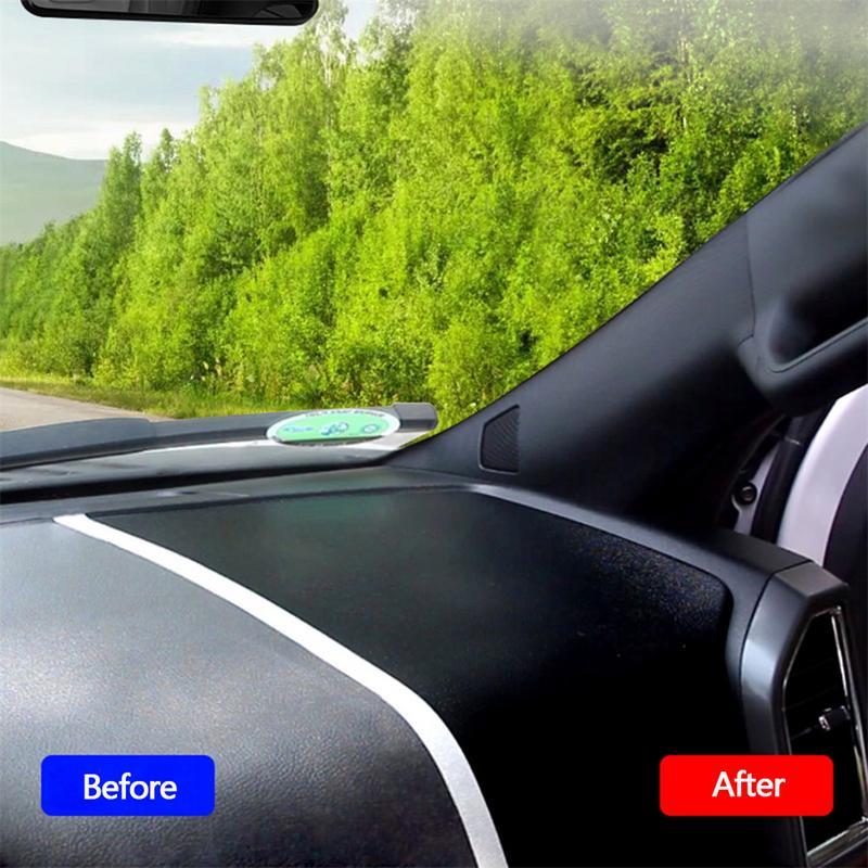 120mL Car Wax Car Interior Repair Instrument Dashboard Trim Seat Gloss Wax Maintenance Dusting Liquid Car Wash Cleaning Tool