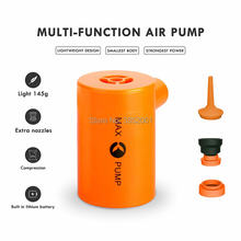 Portable Air Pump with 3600mAH Battery USB Rechargeable max Air Pump - Quick Inflate and Deflate for Your Air Mattress