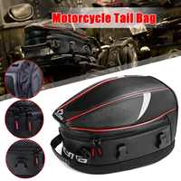 Motorcycle Tail Bag Removable Waterproof Rider Backpack Rear Seat Bag High Capacity Moto Trunks Suitcas Luggage