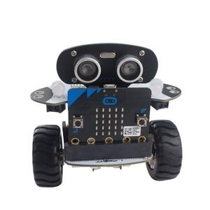 Image 4 - Microbit Robot Kit Programmable Qbit Robot Rc Car App Control Web Graphic Program With Microbit