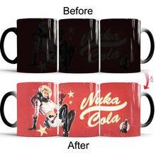 Fallout 4 чашки и кружки волшебная меняющая цвет фарфоровая