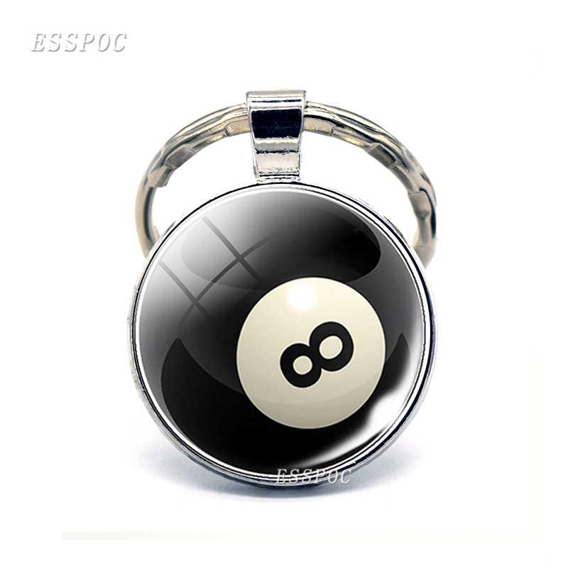 Модный спортивный брелок для ключей Автомобильный ключ брелок для ключей футбольный баскетбольный мяч для гольфа подвеска брелок для любимого спортсмена подарок