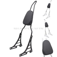 цена на Motorcycle Passenger Luggage Rack Backrest Sissy Bar For Harley Davidson SPORTSTER XL883 883 XL1200 1200 2004-Up