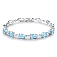 Crystal Bracelet Custom Name Personalized with Bohemian Zirconia for Women Etsy Armbanden Pulseira Feminina