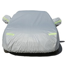 Car Cover For BMW 1 Series Sedan Hatchback 2 Coupe 3 GT With Side Opening Dustproof Waterproof Sun Protector