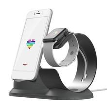 ALLOET мобильного телефона зарядки Кронштейн для P Iphone 5 6 6S 7 p Smartwatch держатель стенд зарядное устройство док станции Apple Watch iWatch