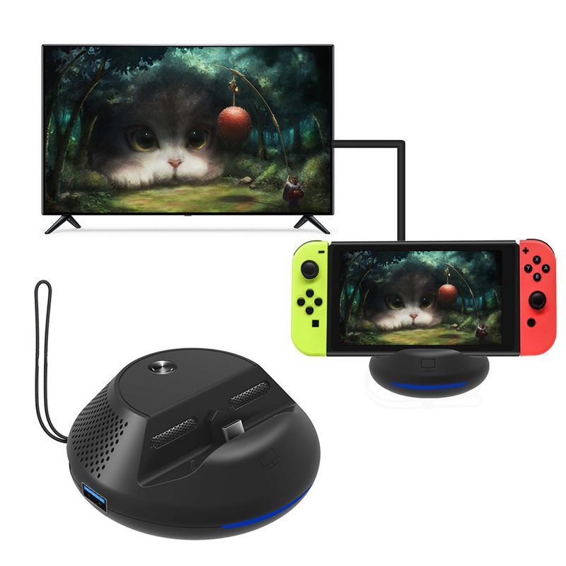 Convertisseur de télévision Portable à commutateur nintentionnel avec nouvelle Solution IC support de refroidissement pour carte de circuit imprimé type-c prise HDMI EU
