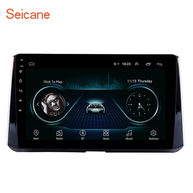 Seicane 10.1 pouces Android 8.1 pour 2019 Toyota Corolla unité de tête HD écran tactile Radio GPS système de Navigation Support 3G Wifi SWC