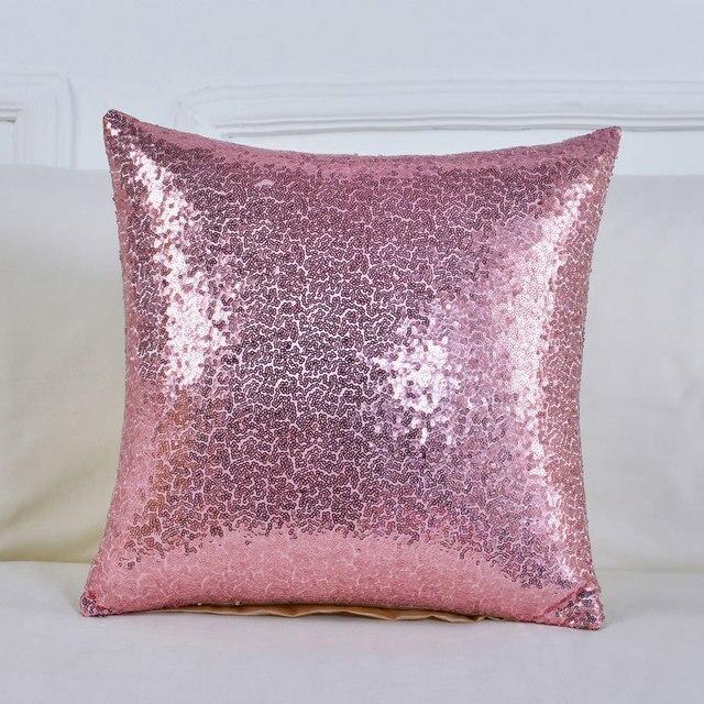 Fodere per Cuscini 40*40 Mermaid Glitter Cuscino con Paillettes Federa Cuscini Decorativi copertura cojines decorativos para divano 40561