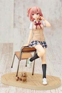 Image 3 - Yuigahama Yui Sitting with Chair School Girl Action Figure Model Anime My Teen Romantic Comedy SNAFU PVC Model Figure Toy 18cm