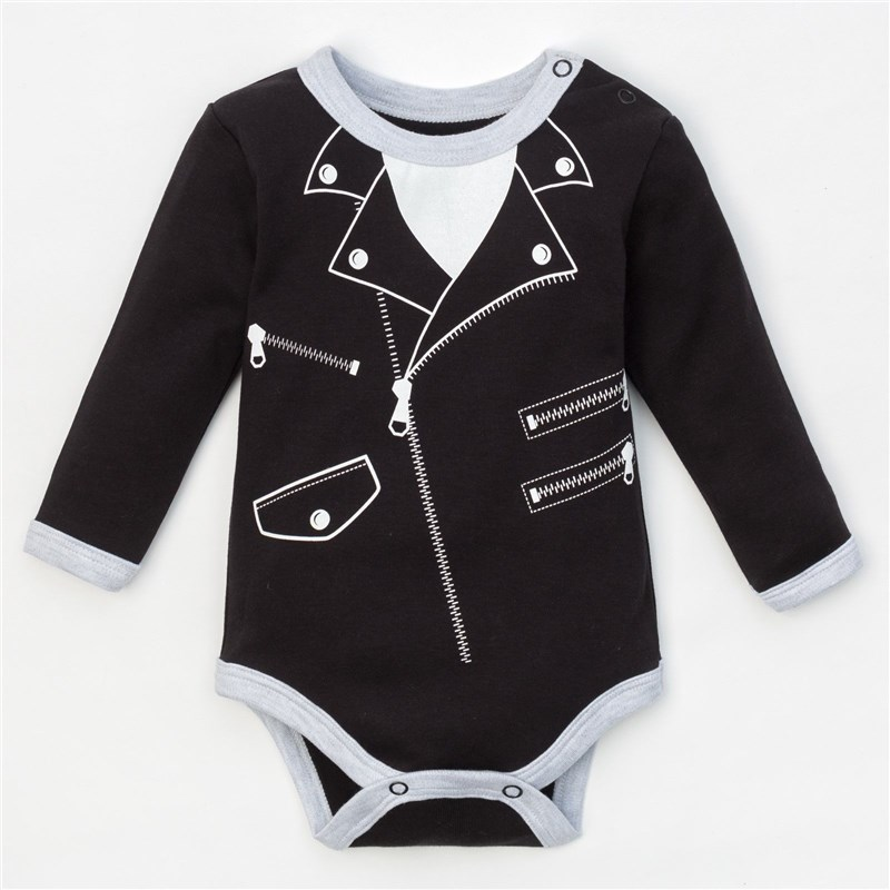 Bodysuit Crumb I Rock style, height 62-68 cm, (R-R 22), black 3840208 fashionable rock style 316l stainless steel guitar pick necklace black antique silver