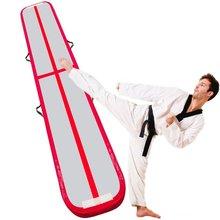 Надувной гимнастический Airtrack акробатика Йога надувной батут трек для дня рождения Training тхэквондо Черлидинг 10 м* 1 м* 0,2 м для танцев