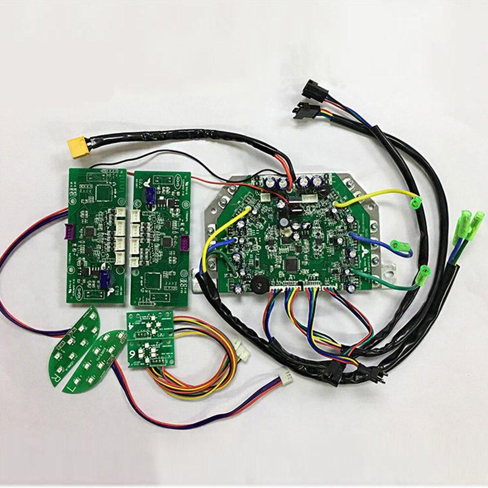 Circuit deux roues 6.5 8 10 pouces pièces faciles à utiliser réparation télécommande carte mère contrôleur bricolage électrique auto Balance Scooter Hoverboard