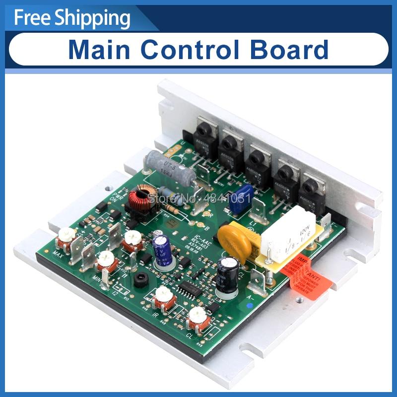 Motor control board for mini lathe
