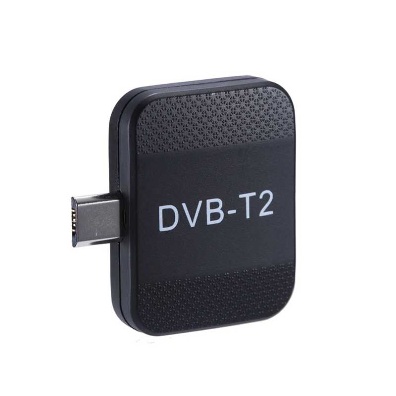 Mini Portable Micro-Usb Dvb-T2 & Dvb-T Android Tv Tuner Stick Dongle Receiver For Samsung Htc Android Phone