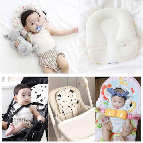 Niemowlę dziecko do spania zagłówek Pad wózek wózek poduszka do fotela samochodowego poduszka na głowę z ciała wsparcie Pad Mat