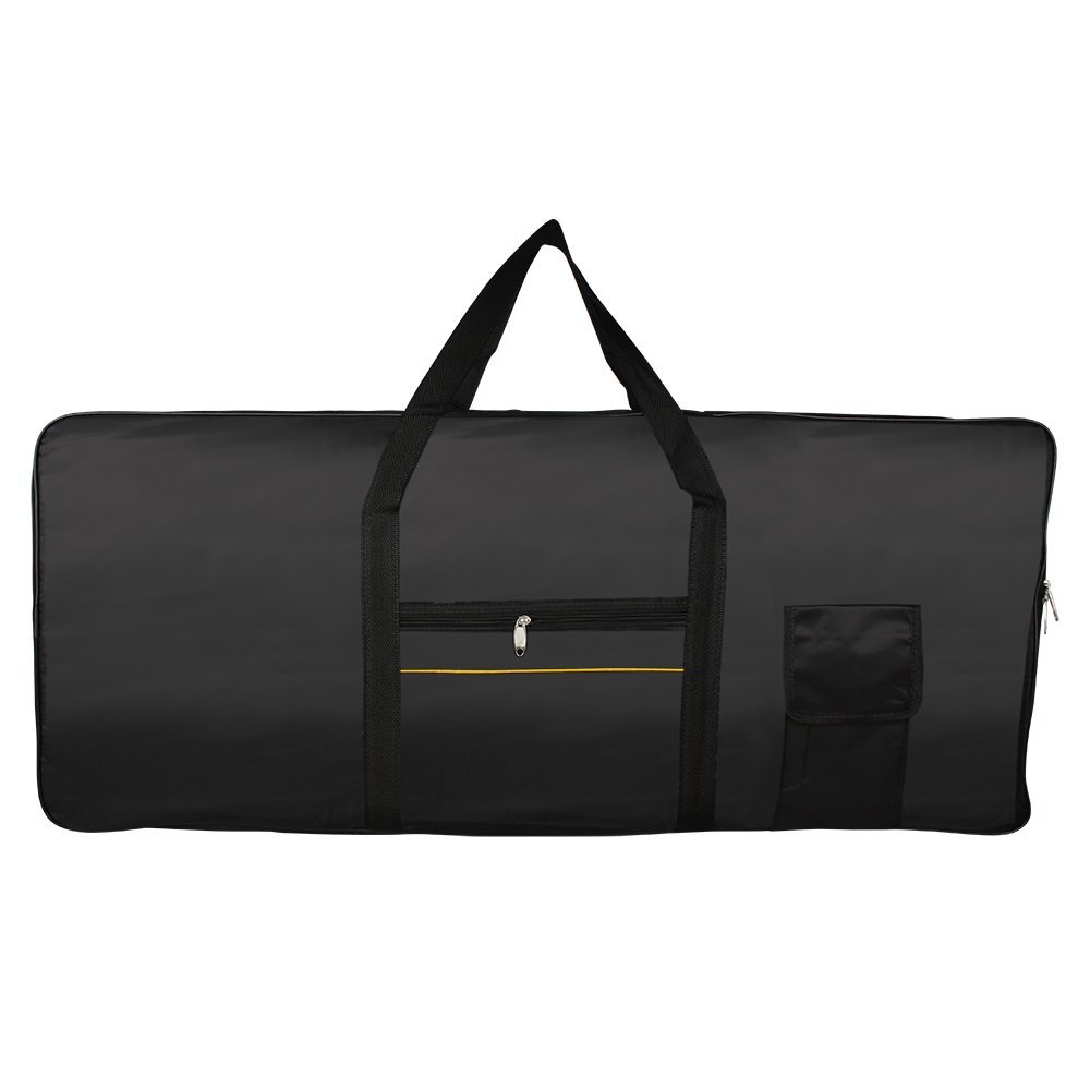 Piano Bag Portable 61-Key Keyboard Electric Piano Padded Case Gig Bags Oxford Cloth Electronic Organ Keyboard Bag Cover Case