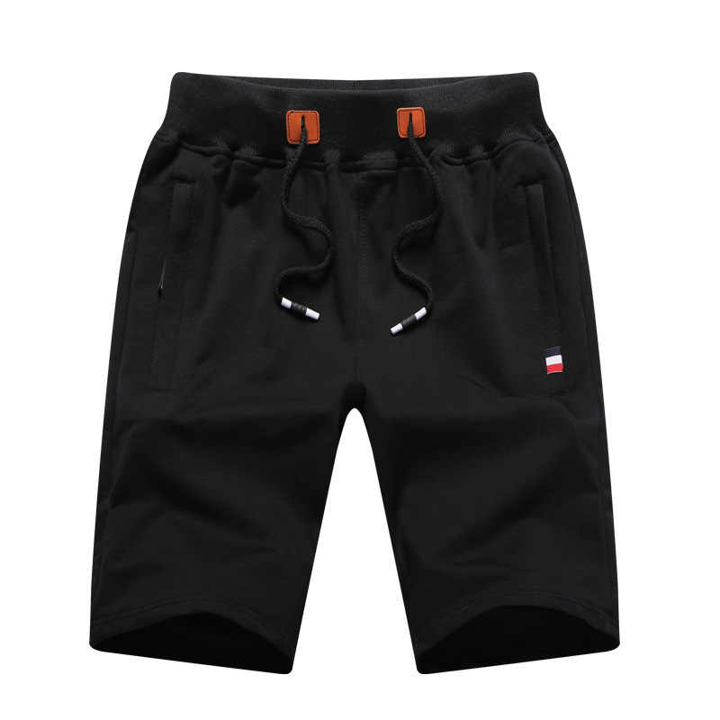Casual Mens Summer Style Fitness Bodybuilding Shorts Fashion Leisure Cotton Breathable Short Half Trousers