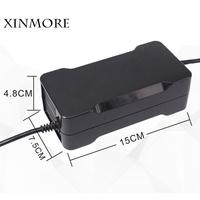 XINMORE 58V 2A Battery Charger For 48V Lead Acid Battery Electric Bicycle Power Electric Tool CE FCC ROHS SAA