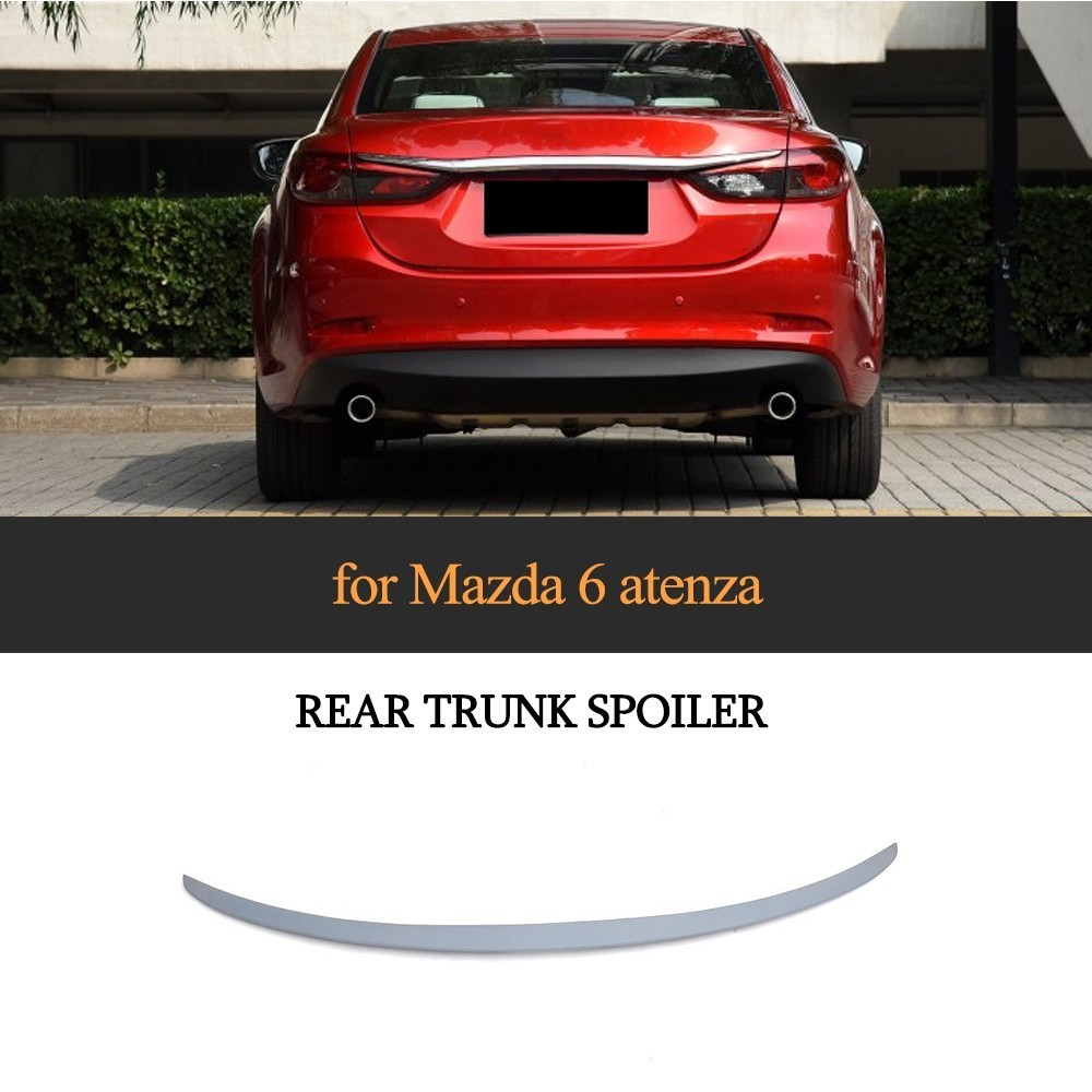 ABS Trunk <font><b>Spoiler</b></font> for <font><b>Mazda</b></font> <font><b>6</b></font> Atenza <font><b>2014</b></font> 2015 2016 Rear Trunk Lip <font><b>Spoiler</b></font> image