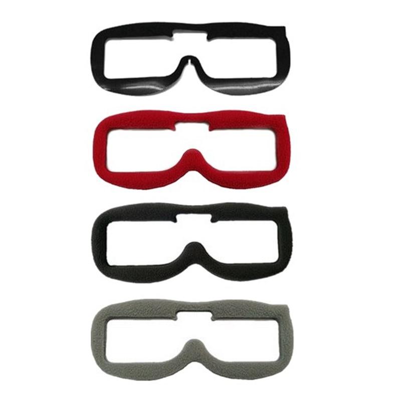 3 PCS Atualizado Faceplate Substituição KIT Almofada de Tecido de Flanela Macia Para Fatshark FPV Óculos de Proteção