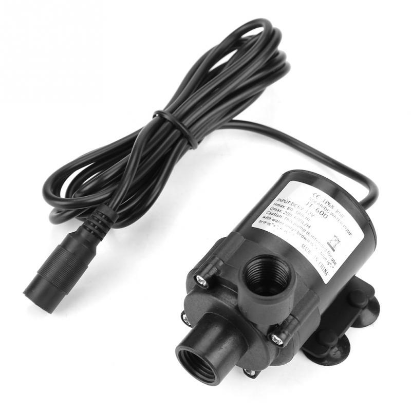 EntrüCkung Neue Mini Dc Bürstenlosen Wasserpumpe 16mm Interne Gewinde 12 V/24 V-40 ~ 100 Grad Pumpen
