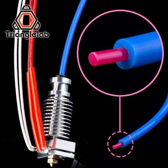 Trianglelab PTFE Tube Teflonto TL-Feeder hotend RepRap Rostock Bowden Extruder 1.75mm ID1.9mmOD4mm Capricornus tube 2